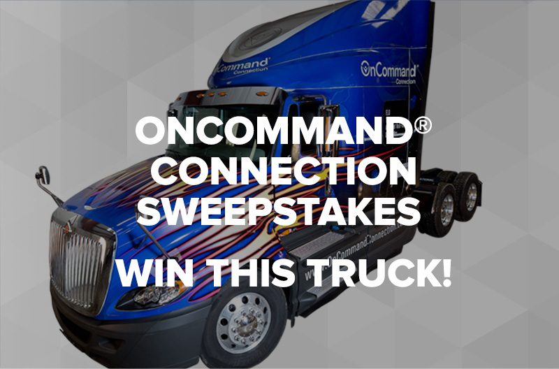 OCC Truck Sweepstakes. Win this Truck!